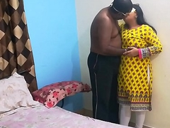 Indian Shanaya Bhabhi In Eye Catching Desi Shalwar Suit Having Closeup Coitus With Love