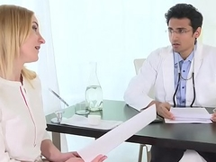 Needy wife seeks gratification from family doctor