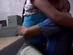sexy hot desi amateur gf secretly on touching workplace