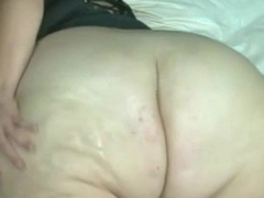 bbw from DesireBBWs.com oils her huge ass
