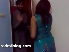 Punjabi girls together take men enjoying
