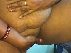 desi indian tamil telugu kannada malayalam hindi sizzling cheating join in matrimony vanitha wearing blue colour saree showing big boobs and bald pussy press unchanging boobs press nip rubbing pussy masturbation