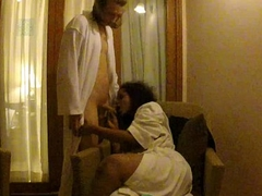 indian aunty lily in hotel with her boyfriend hardcore sexual intercourse