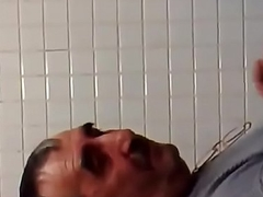 Bathroom copulation with daddy
