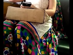 Bhabhi bouncing boobs in car